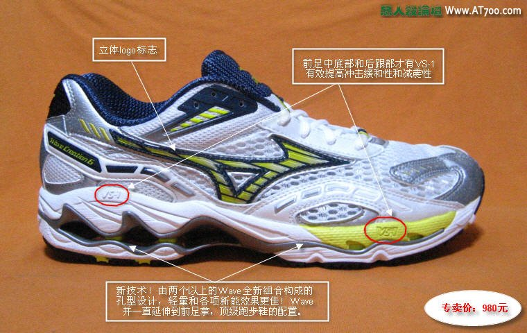 美津浓顶级跑步鞋